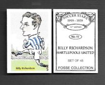 Hartlepools United Billy Richardson 19 (FC)
